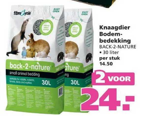 Ranzijn Tuin & Dier Knaagdier Bodembedekking Back-2-Nature