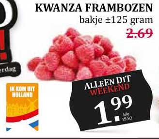 MCD Supermarkt Kwanza Frambozen