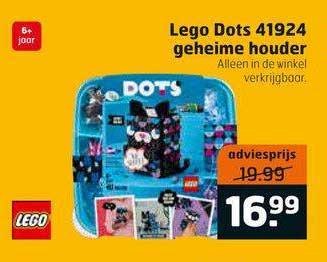 Trekpleister Lego Dots 41924 Geheime Houder