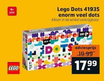 Trekpleister Lego Dots 41935 Enorm Veel Dots
