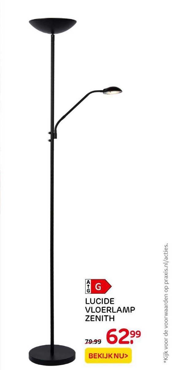 Praxis Lucide Vloerlamp Zenith