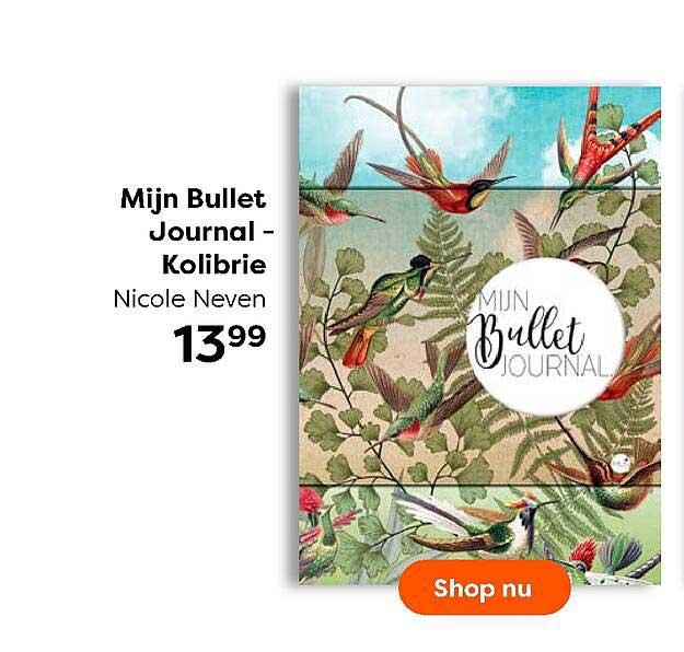 The Read Shop Mijn Bullet Journal - Kolibrie Nicole Neven