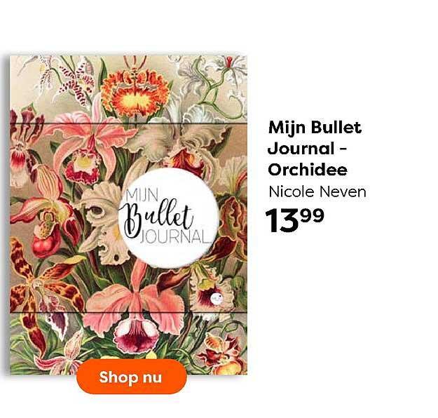 The Read Shop Mijn Bullet Journal - Orchidee Nicole Neven