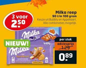 Trekpleister Milka Reep 90 T-m 100 Gram