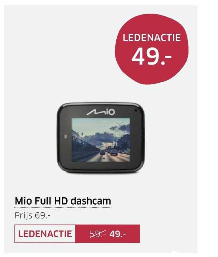 ANWB Mio Full HD Dashcam