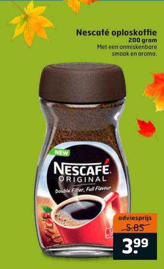 Trekpleister Nescafé Oploskoffie 200 Gram