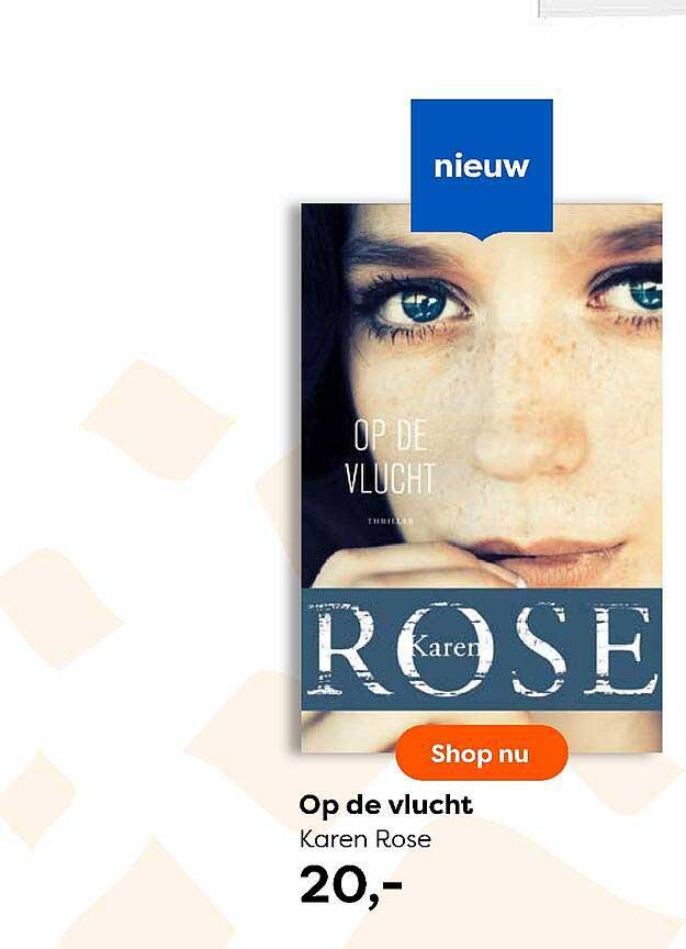 The Read Shop Op De Vlucht Karen Rose