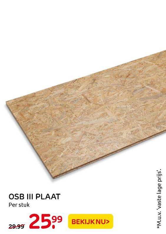 Praxis OSB III Plaat