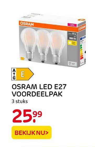 Praxis Osram LED E27 Voordeelpak