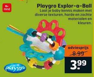 Trekpleister Playgro Explor-A-Ball