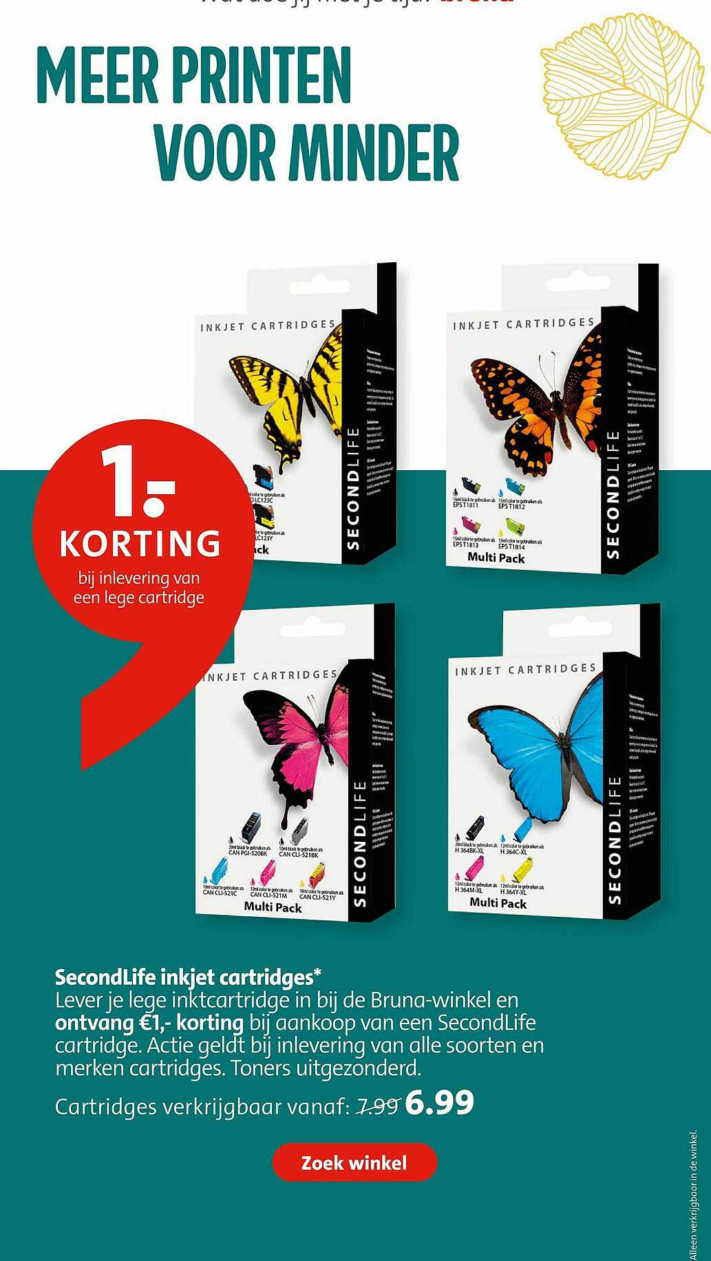 Bruna SecondLife Inkjet Cartridges*