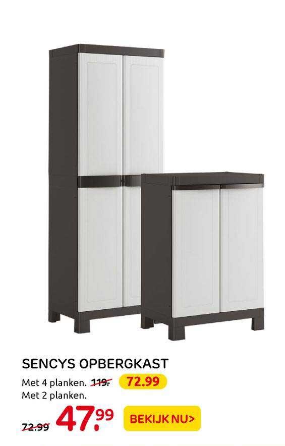 Praxis Sencys Opbergkast
