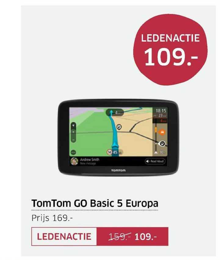 ANWB TomTom Go Basic 5 Europa