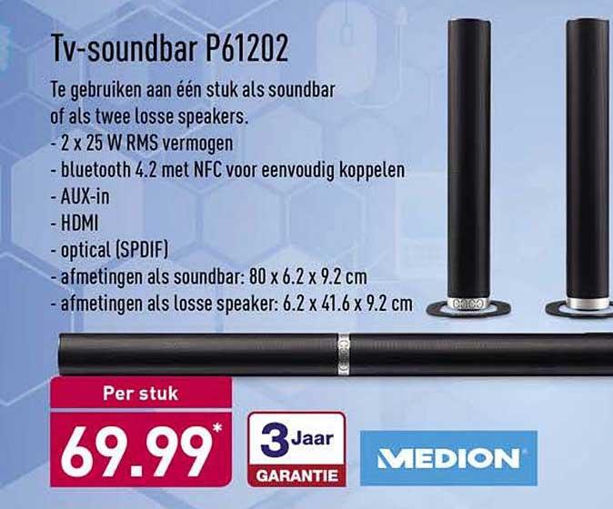 ALDI Tv Soundbar P61202