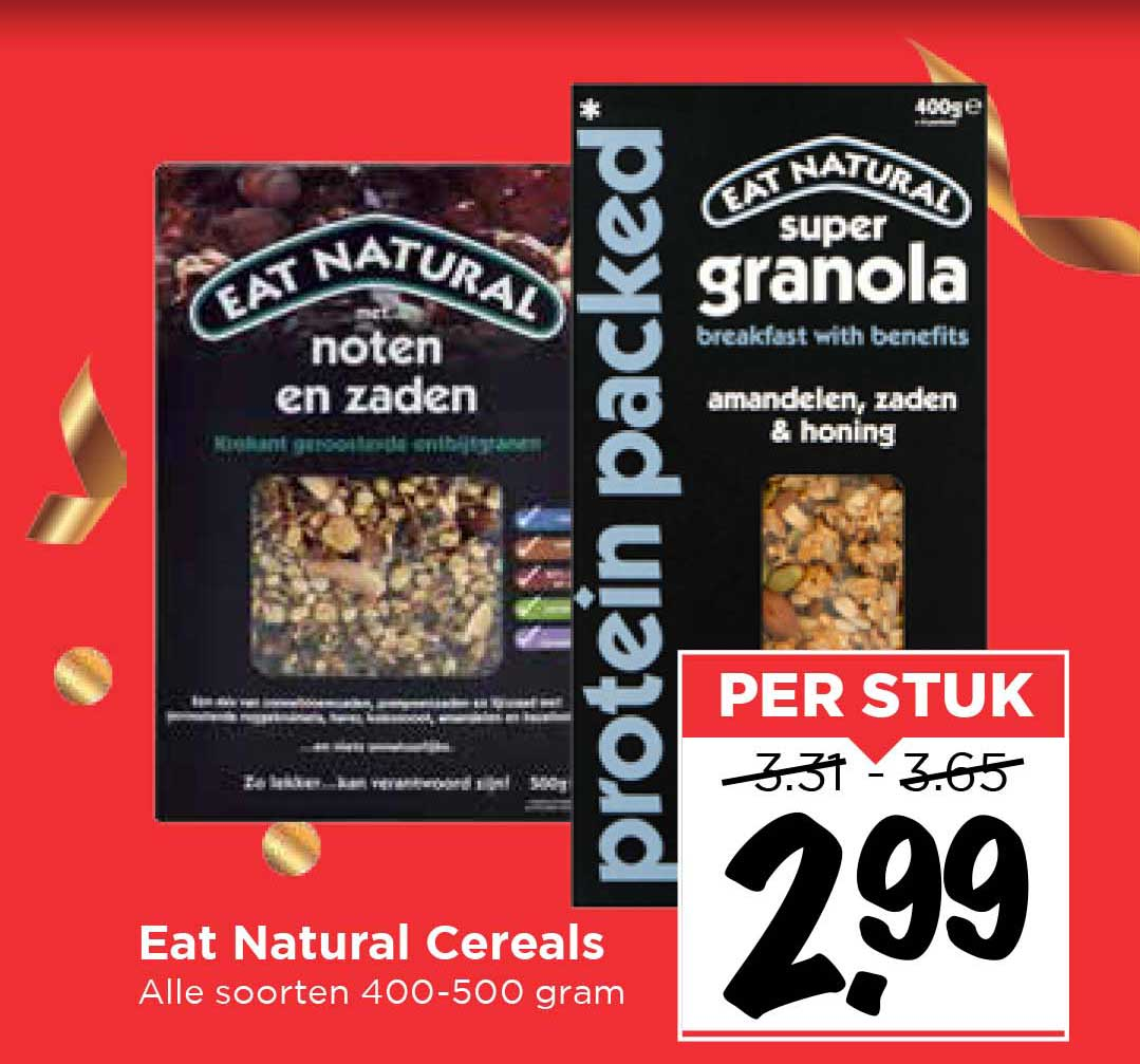 Vomar Eat Natural Cereals
