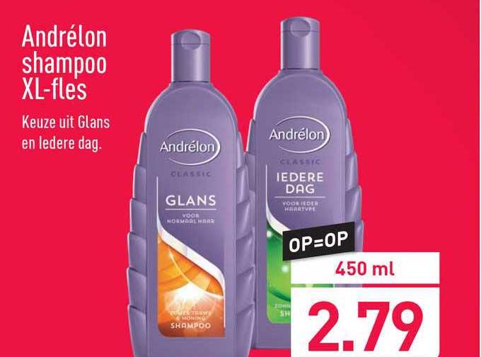 ALDI Andrélon Shampoo XL-Fles
