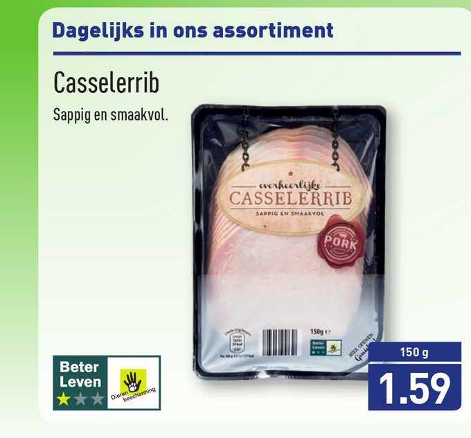 ALDI Casselerrib