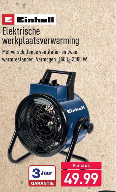 ALDI Elektrische Werkplaatsverwarming