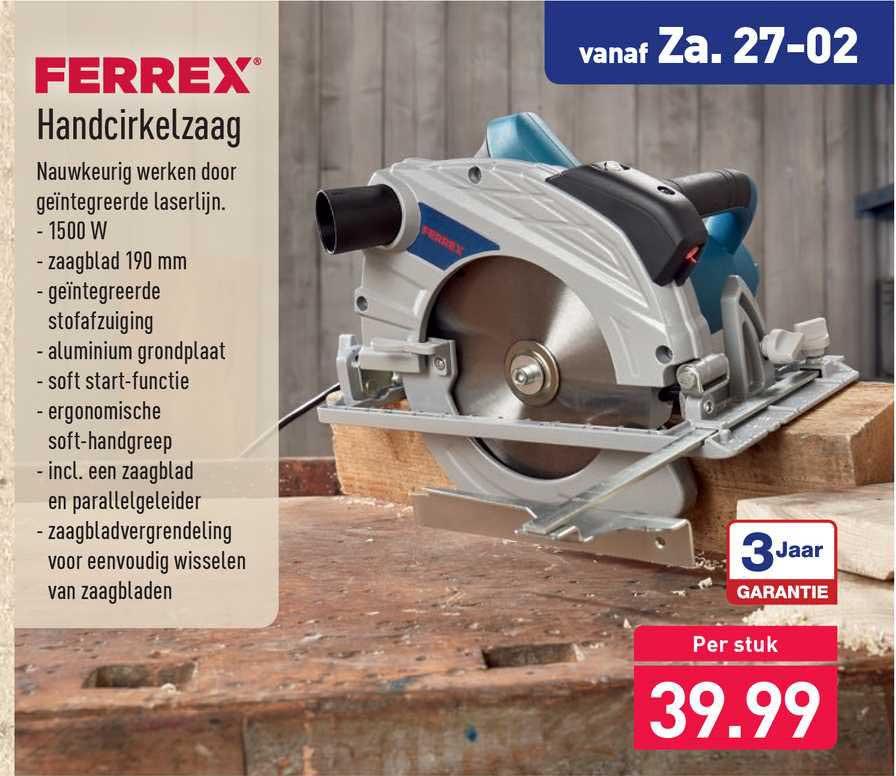 ALDI Ferrex Handcirkelzaag