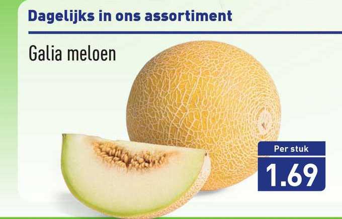 ALDI Galia Meloen
