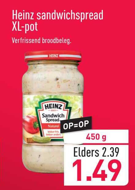 ALDI Heinz Sandwichspread XL-Pot