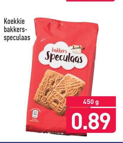 ALDI Koekkie Bbakkerspeculaas