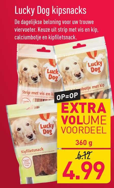ALDI Lucky Dog Kipsnacks