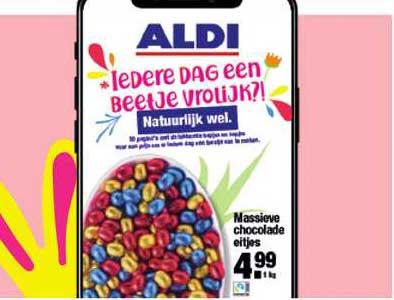 ALDI Massieve Chocolade Eitjes