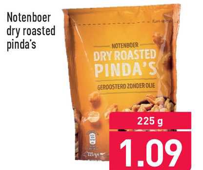 ALDI Notenboer Dry Roasted Pinda's