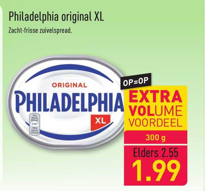 ALDI Philadelphia Original XL