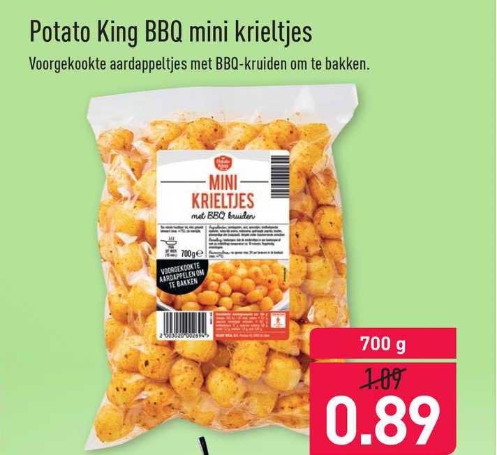 ALDI Potato King BBQ Mini Krieltjes
