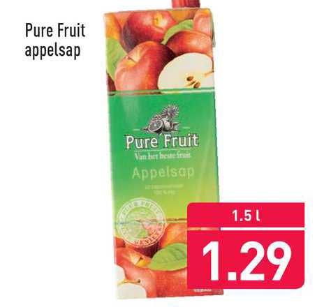 ALDI Pure Fruit Appelsap