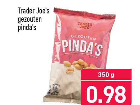 ALDI Trader Joe's Gezouten Pinda's