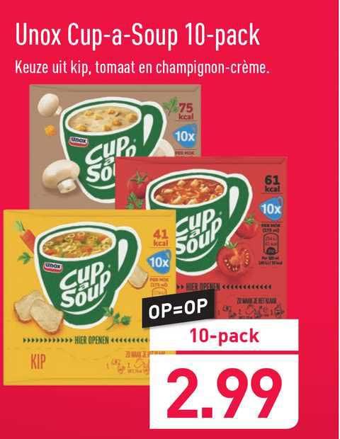 ALDI Unox Cup-a-Soup 10-Pack