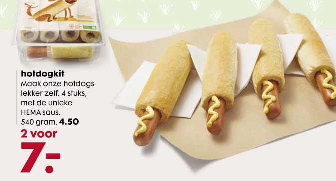 HEMA Hotdogkit: 2 Voor €7,-