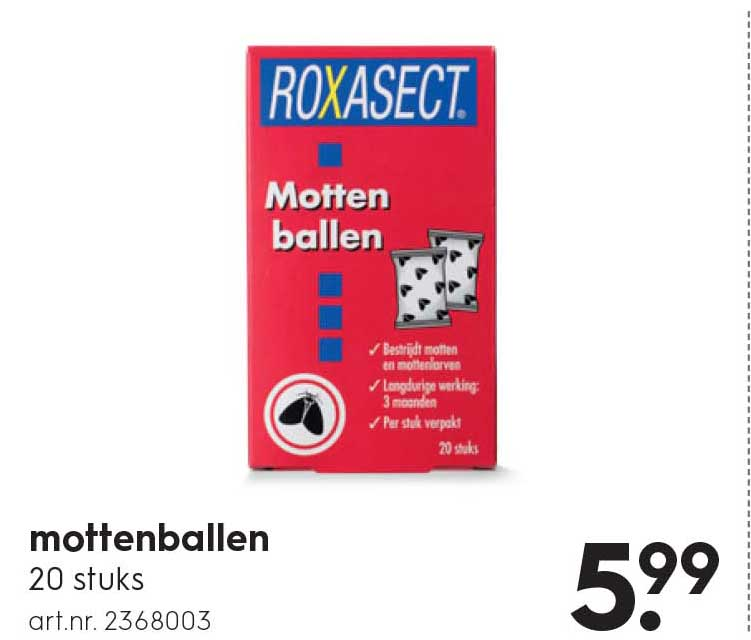 Blokker Mottenballen