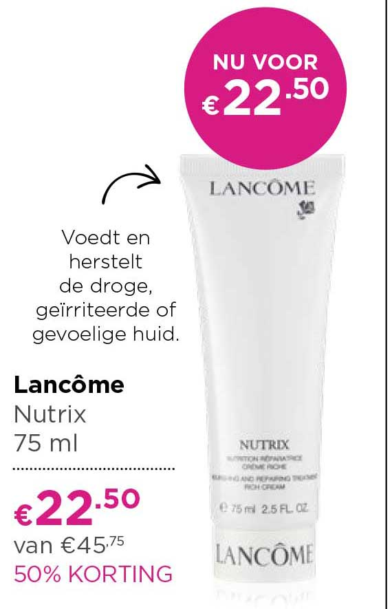 ICI PARIS XL Lancome Nutrix