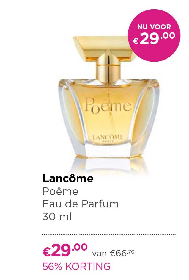 ICI PARIS XL Lancome Poeme Eau De Parfum