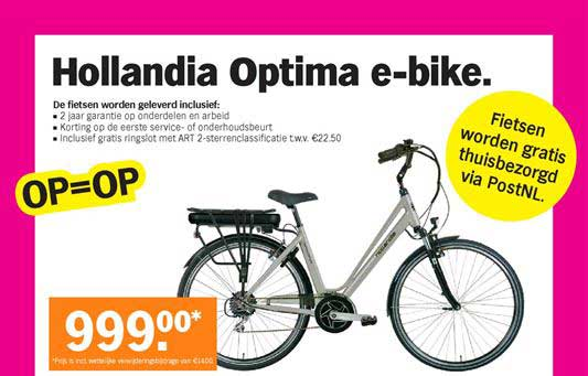 Albert Heijn Hollandia Optima E Bike