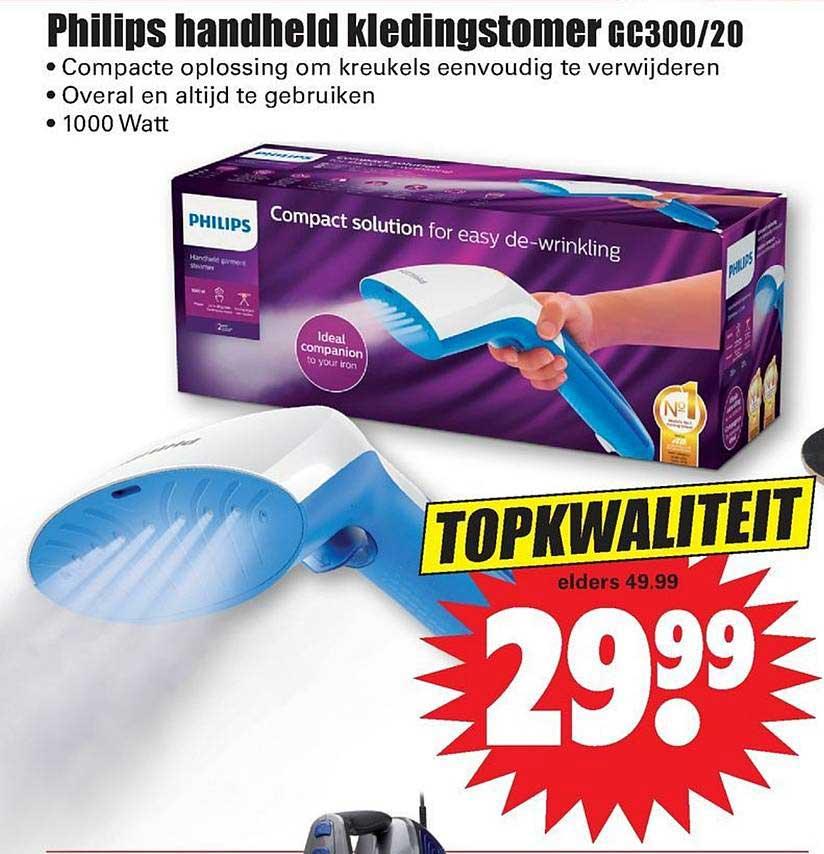 Dirk Philips Handheld Kledingstomer