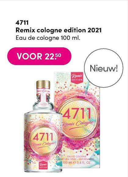 DA 4711 Remix Cologne Edition 2021 Eau De Cologne