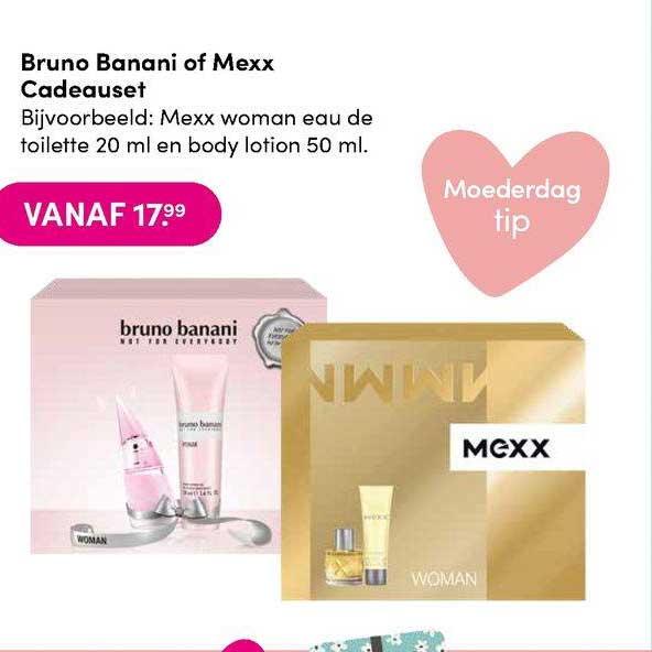 DA Bruno Banani Of Mexx Cadeauset