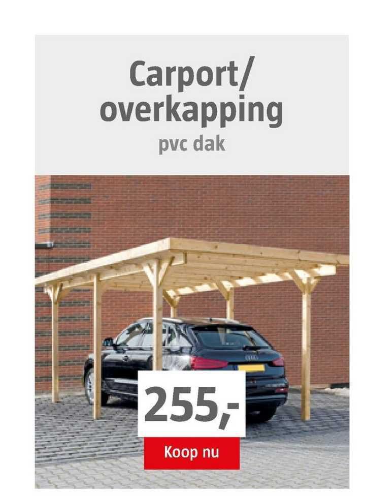 BAUHAUS Carport-Overkapping PVC Dak