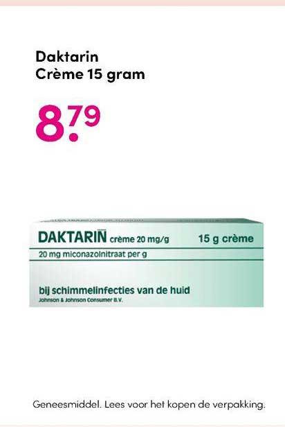 DA Daktarin Crème 15 Gram