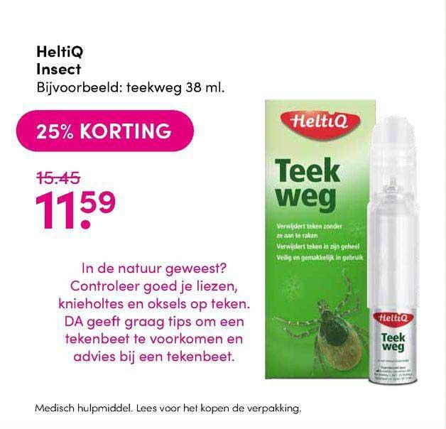 DA HeltiQ Insect 25% Korting