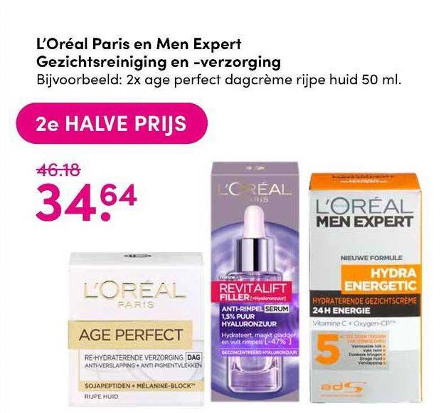 DA L'Oréal Paris En Men Expert Gezichtsreiniging En -verzorging