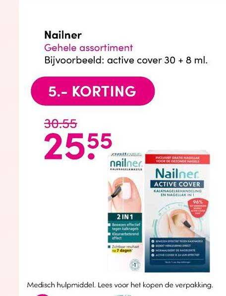 DA Nailner 5.- Korting