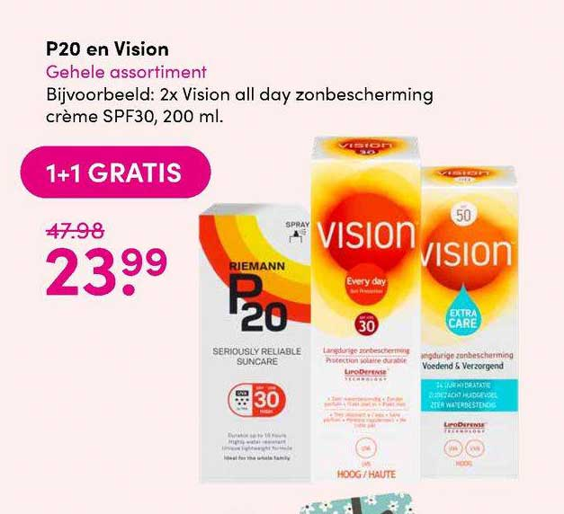 DA P20 En Vision 1+1 Gratis