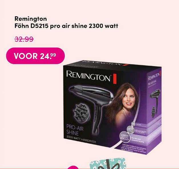 DA Remington Föhn D5215 Pro Air Shine 2300 Watt