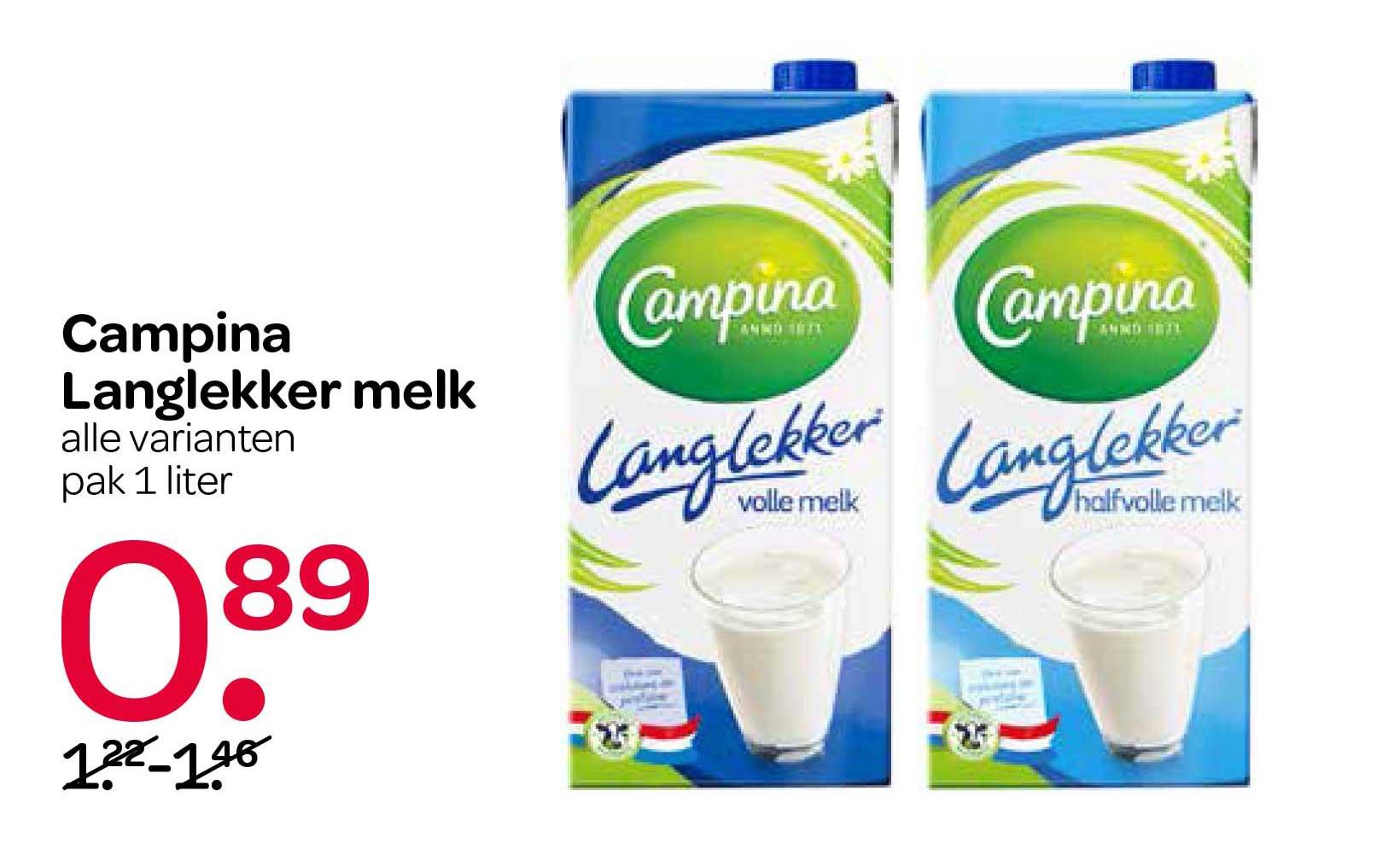 Spar Campina Langlekker Melk